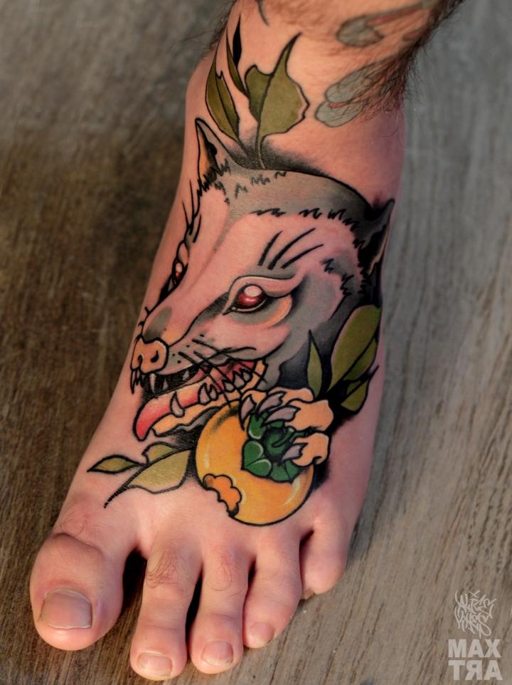 opossum piede ok logo
