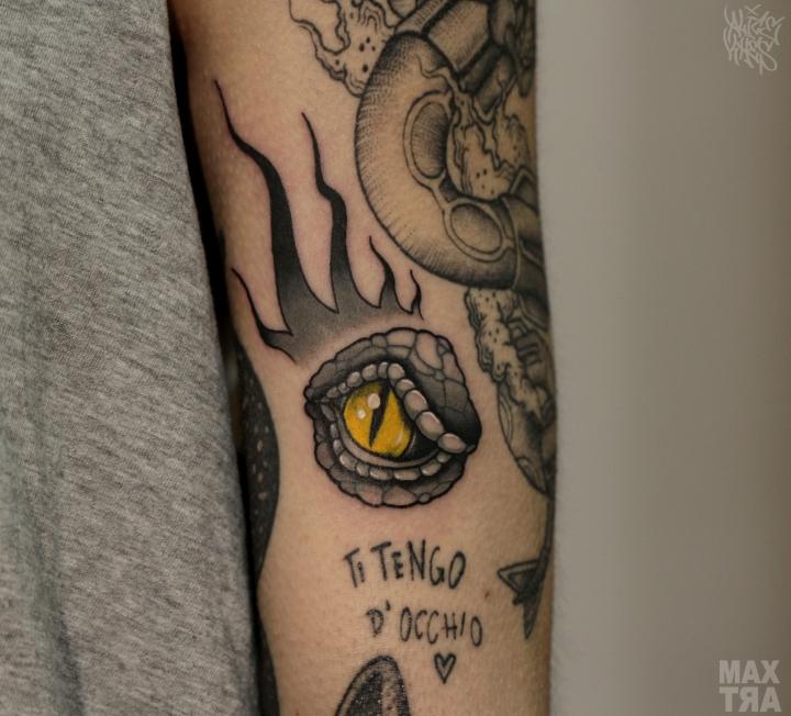 occhio drago