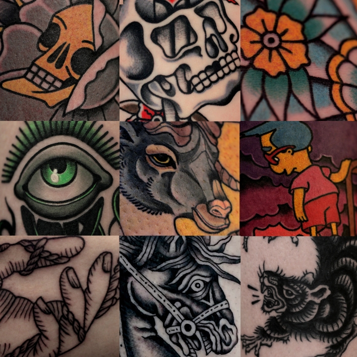 collage tattooù