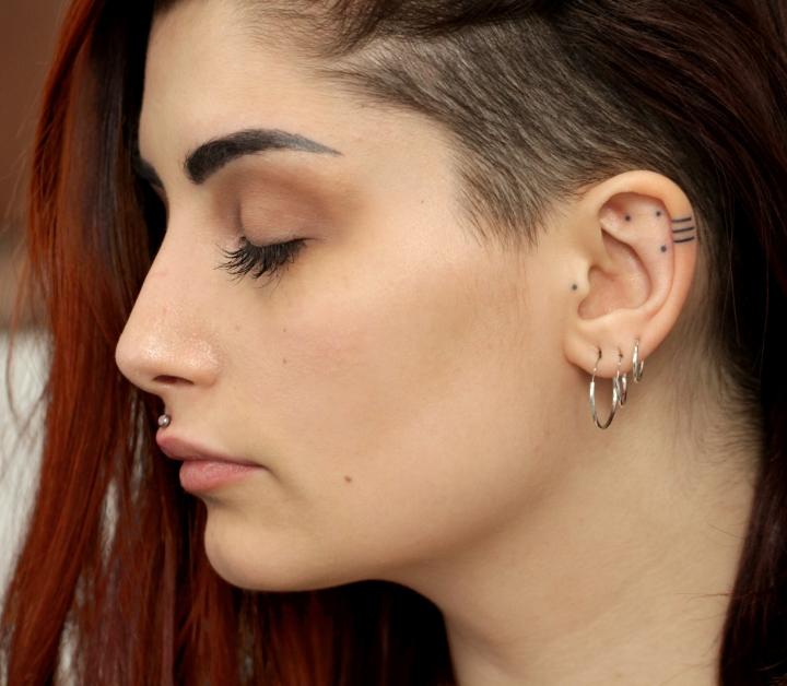 linee orecchio guarite