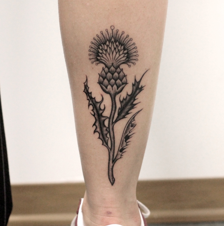 fiore gamba