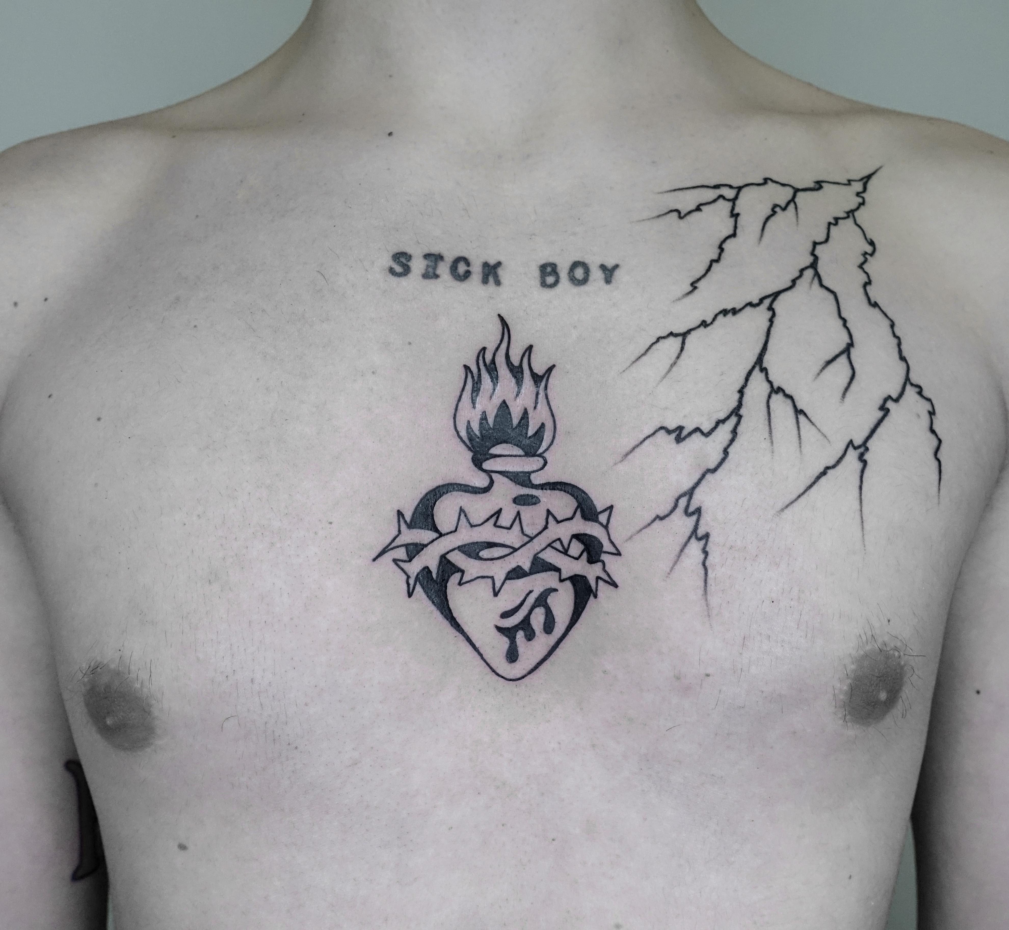 cuore saCRO BLACK